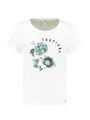 garcia t-shirt tropical e90003 wit