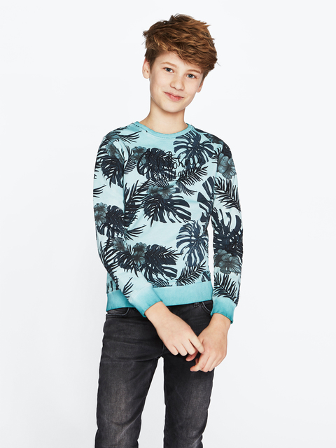 cars sweater mitch blauw