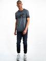 garcia t-shirt met opdruk h91206 zwart