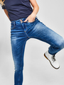 tripper rome high skinny blue worn