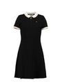 garcia jurk met kraagje n02682 zwart