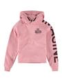 garcia hoodie met tekst ge920901 roze