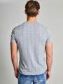 Chief T-shirt Korte Mouwen PC910606 Grijs Gestreept