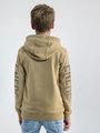 garcia hoodie met opdruk n03644 beige