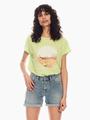 garcia t-shirt neongroen p00210