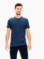 garcia t-shirt gestreept blauw t01207