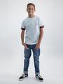 garcia t-shirt n03608 grijs