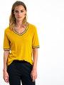 garcia t-shirt i90005 geel