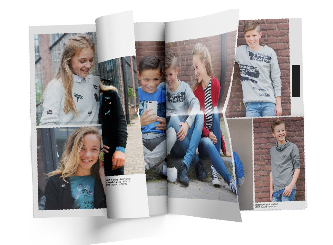 Kids look book