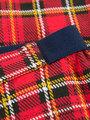 garcia geruite broek j92720 rood