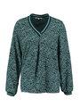 tripper blouse met allover print tr900901 blauw