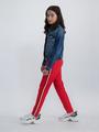 garcia joggingsbroek met streep n02720 rood
