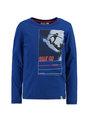 garcia long sleeve met opdruk h95600 blauw
