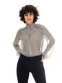 garcia blouse zwart wit t00233