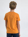 garcia t-shirt met opdruk m03403 oranje