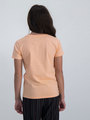 garcia t-shirt met opdruk n02601 oranje