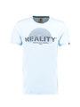 Garcia T-shirt Korte Mouwen  D91203 Lichtblauw