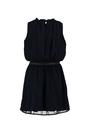 garcia mouwloze jurk l92685 blauw