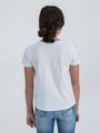 garcia t-shirt met opdruk n02608 wit