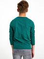 garcia long sleeve met opdruk h93602 groen