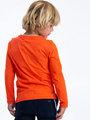 garcia long sleeve met opdruk i95401 oranje