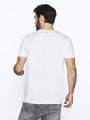 chief t-shirt met fotoprint pc010106 wit