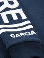 garcia hoodie met tekst i92466 blauw