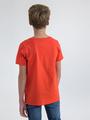 garcia t-shirt met opdruk n03601 rood
