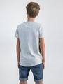 garcia t-shirt met fotoprint o03409 wit