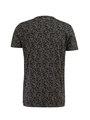 chief t-shirt met allover print pc910703 grijs