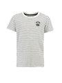 Garcia T-shirt Korte Mouwen PG930105 Zwart Gestreept
