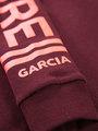 garcia hoodie met tekst i92466 rood
