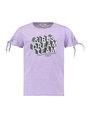 garcia t-shirt met tekstprint e92404 lila