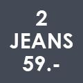 2 jeans voor 59 euro | doorlopend