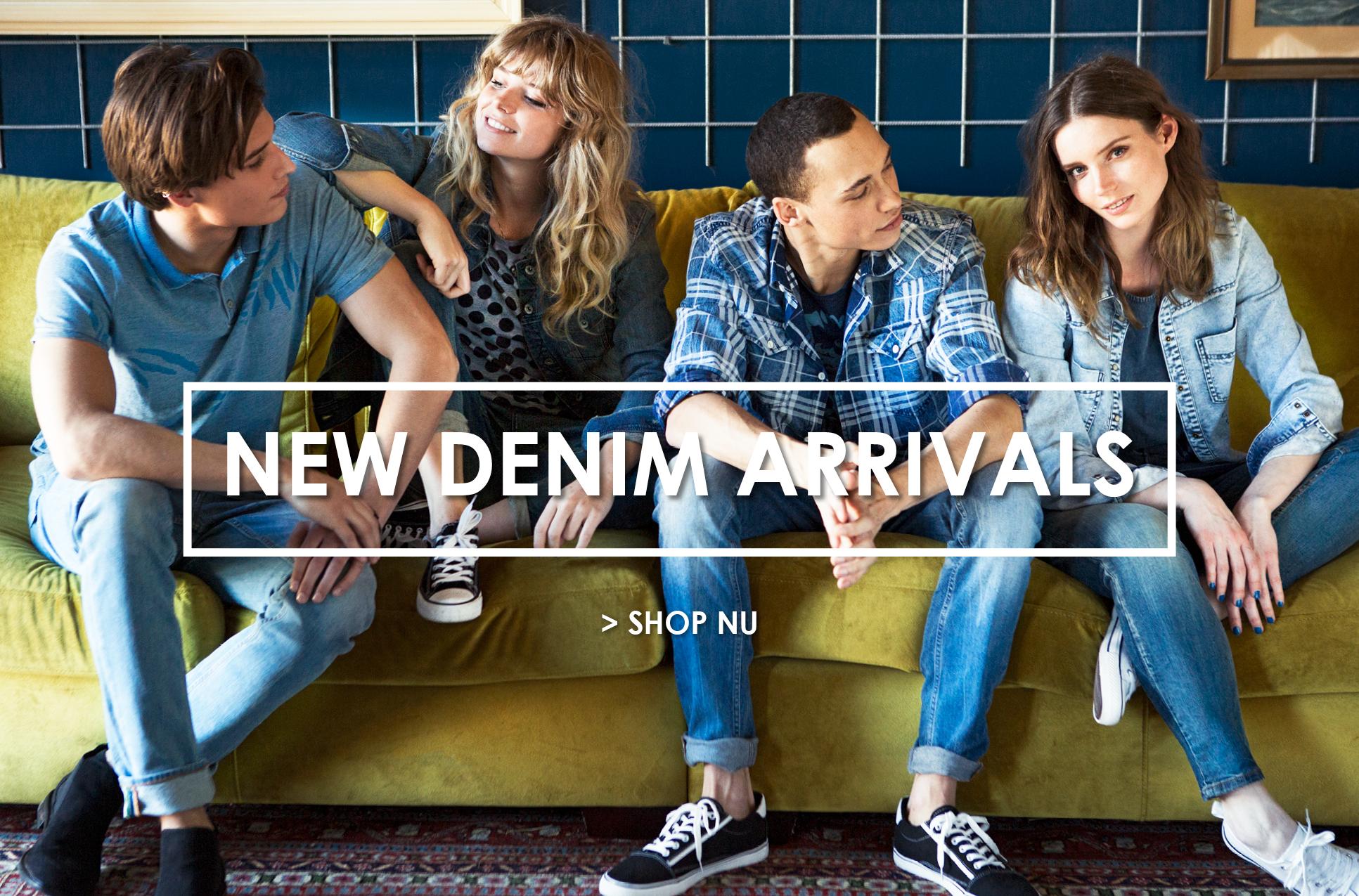 Shop new denim arrivals
