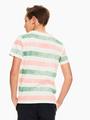 garcia t-shirt gestreept wit q03403