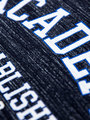 garcia t-shirt met tekst g93402-292 blauw