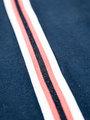 garcia long sleeve met streep i92403 blauw