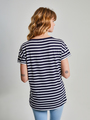 Tripper T-shirt Korte Mouwen TR900211 Print Streep