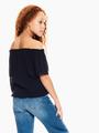 garcia blouse donkerblauw p02632