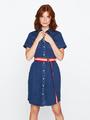 tripper denim jurk medium used tr000311