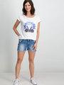 Garcia T-shirt Korte Mouwen D90204 Wit