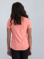 garcia t-shirt met opdruk m02401 oranje
