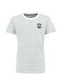 Garcia T-shirt Korte Mouwen PG930105 Groen Gestreept