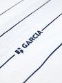 garcia gestreept t-shirt g93401 wit