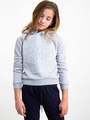 garcia hoodie i92461 grijs