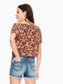 garcia blouse roze p02632