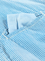 garcia gestreept overhemd l93633 blauw
