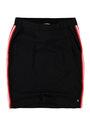 garcia rok met sportieve strepen n00322 zwart