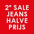2e jeans 50% korting